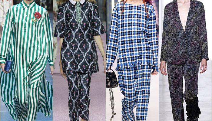 Модный тренд лета 2016 – костюм-пижама