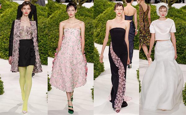 Коллекция Christian Dior весна-лето 2017